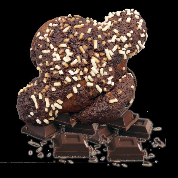 Colomba Doppia Cioccolato